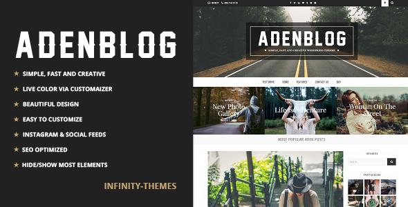 Aden v2.2 - Responsive WordPress Blog Theme