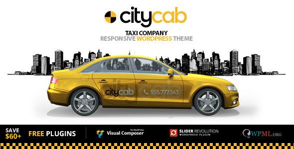 CityCab v2.0.3 - Taxi Company & Taxi Firm WordPress Theme