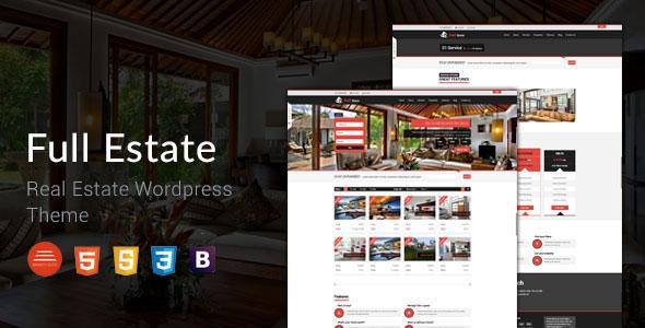 Full Estate v1.2 - Wordpress Real Estate Theme