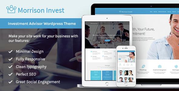 Investments v1.1 - Business & Financial Advisor WP Theme