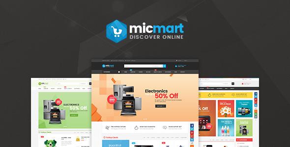 Lexus Micmart - Innovative Digital Opencart Themes