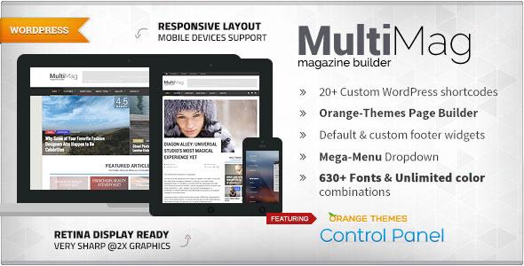 MultiMag v1.0.9 - Multipurpose Magazine Theme