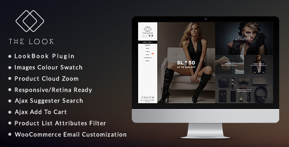 The Look v1.4.8 - Clean, Responsive WooCommerce Theme