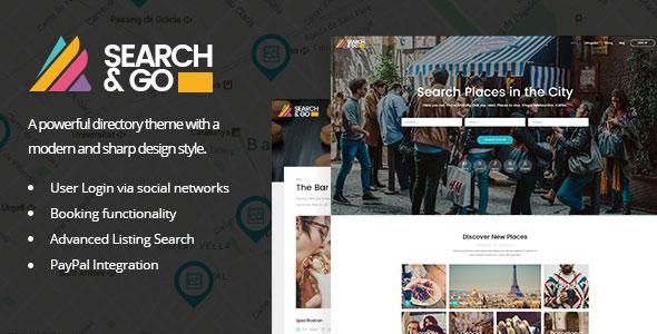 Search & Go – 时尚目录商家主题