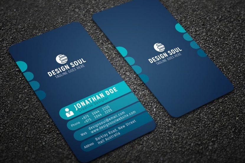 modern business card  weidea