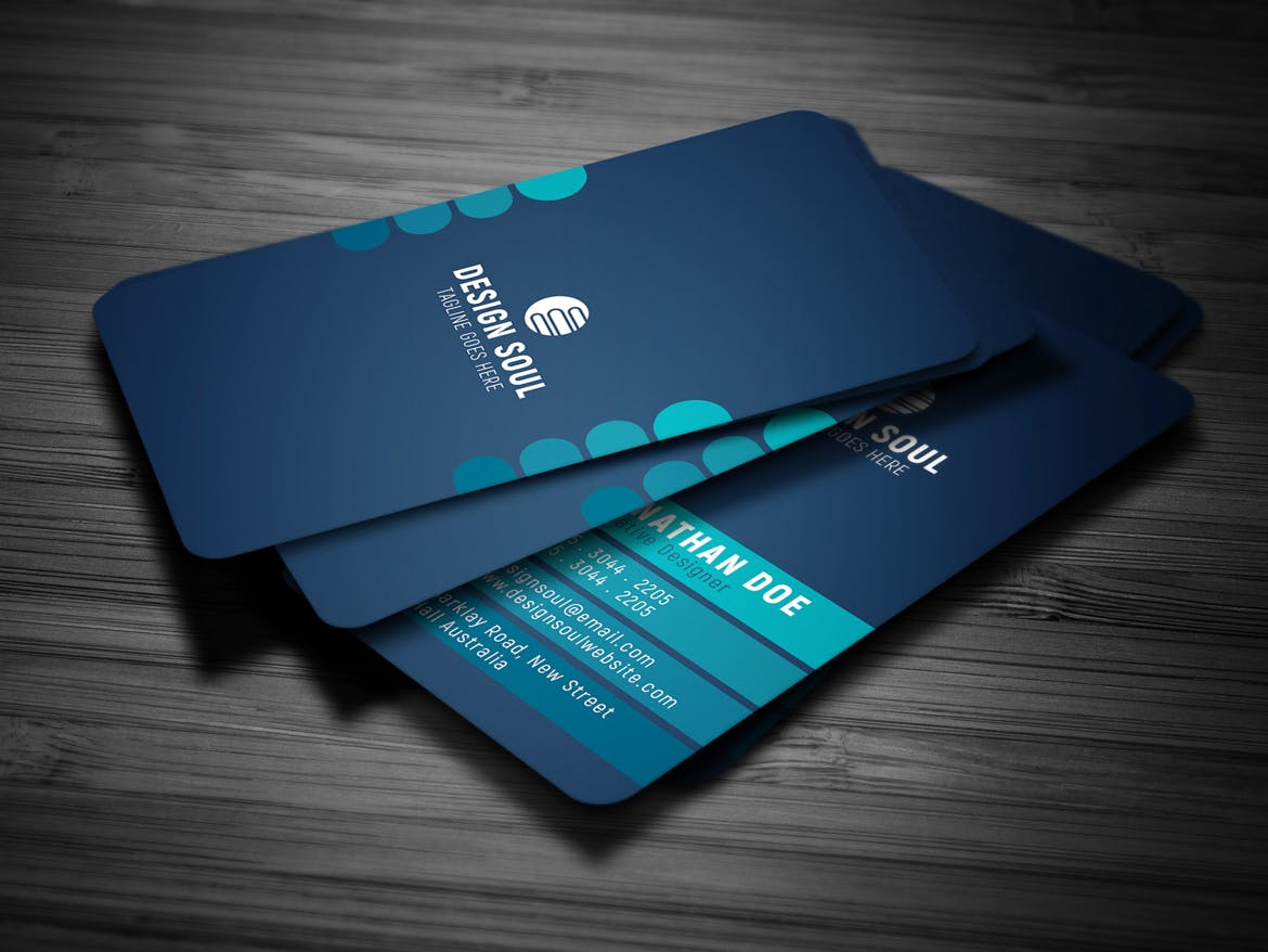 Modern business card weidea this corporate business card design is great for both personal and business usage modern and clean business cardtailed instructions included within the magicingreecefo Choice Image