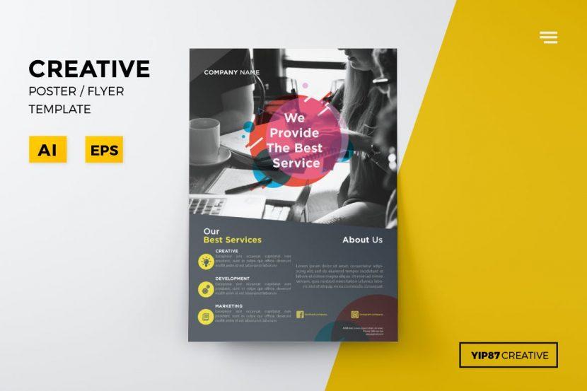Company Promotion Flyer Weidea