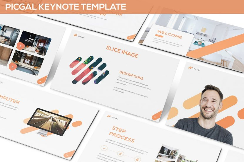 Picgal powerpoint template weidea get it now a simple modern powerpoint template for your business presentation design technology creative agency etc or personal use multipurpose toneelgroepblik Choice Image
