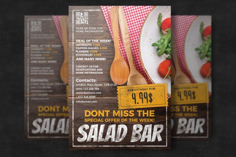 Restaurant Flyer Template | weidea