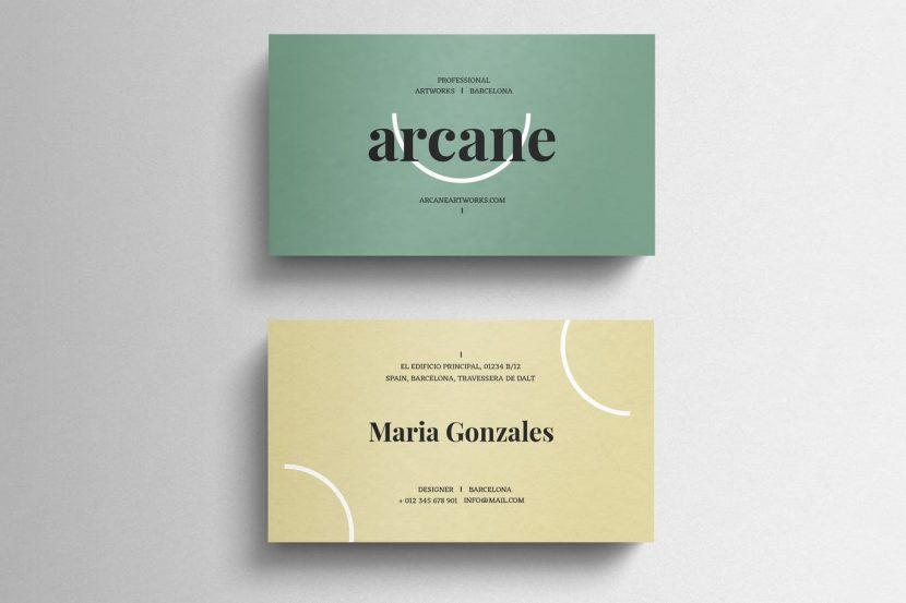 Classy pastel business card template weidea classy pastel business card template colourmoves