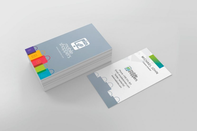 E commerce business card weidea e commerce business card colourmoves