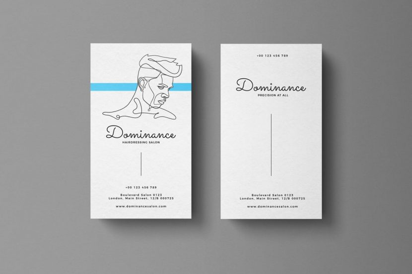Men haircut salon business card weidea men haircut salon business cardofessional and clean structured files quick and easy to customize templatesfully editable in photoshop reheart Images