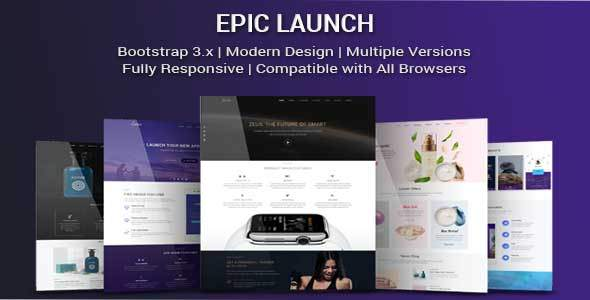 Epic Launch HighConverting Landing Page Template Weidea - Launch page template
