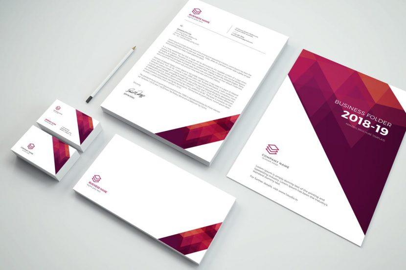 branding stationery pack weidea