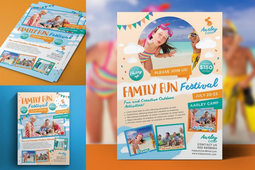 family day flyer weidea