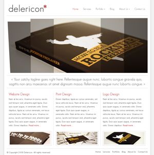 Delericon WordPress themes