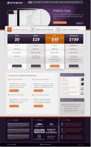 RocketTheme WordPress Theme