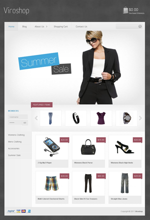 Viroshop WordPress themes