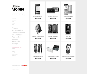 TM store mobile Magento themes