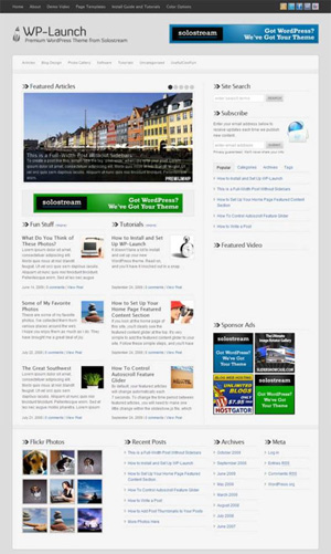 wp-launch wordpress themes