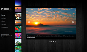 photome photography and portfolio template