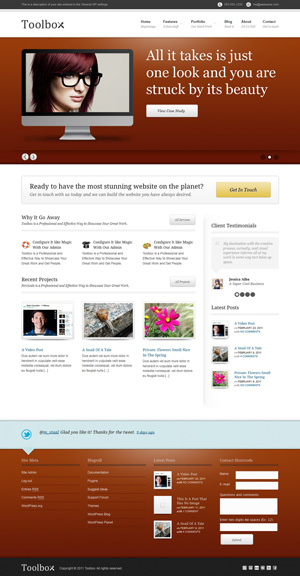 Toolbox wordpress theme