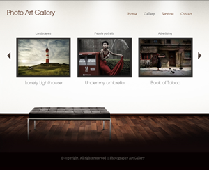 Artgallery WordPress theme