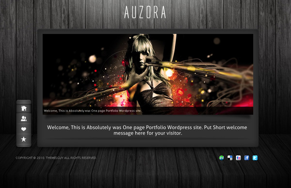 Auzora WordPress theme