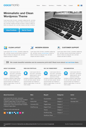 Cocomonio Business and Portfolio WordPress