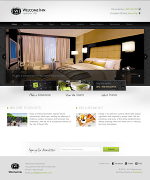 WelcomeInn WordPress theme