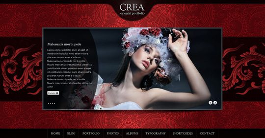 Crea wordpress theme