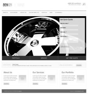 DENIZY 5 in 1 Business & Portfolio WordPress Theme