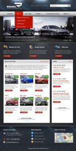Radial Premium Automotive & Tech WordPress Theme