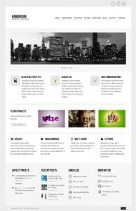 Handerson - Premium Business Portfolio Blog Theme