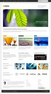 Indus WordPress Theme