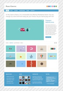 Peano Creative - WordPress Portfolio & Blog Theme