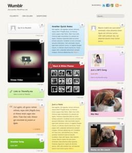 wumblr wordpress theme