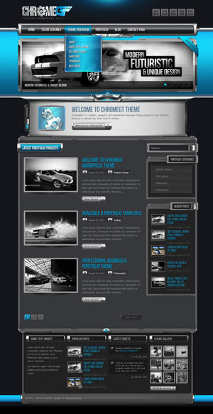 ChromeGT Business & Portfolio WordPress Theme