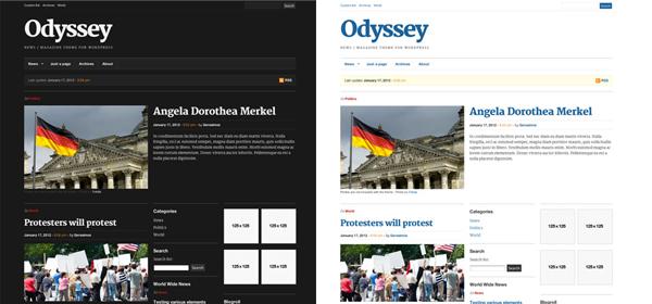 演示登录下载 odyssey wordpress主题,run a magazine / news portal