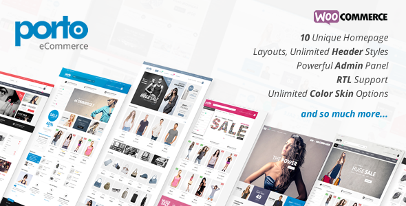 Porto Responsive eCommerce WordPress Theme