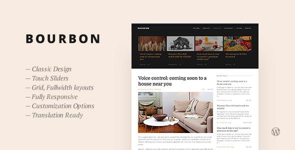 theme格式主题_Bourbon 博客 WordPress主题 v1.4 | weidea