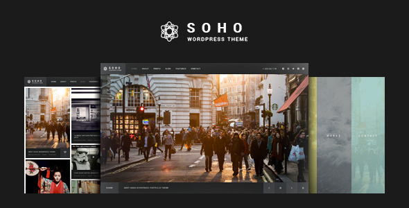 SOHO v1.8 - Fullscreen Photo & Video WordPress Theme