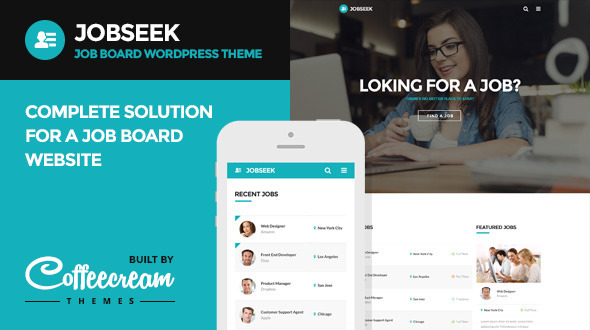 JOBSEEK V1.8 - JOB BOARD WORDPRESS THEME