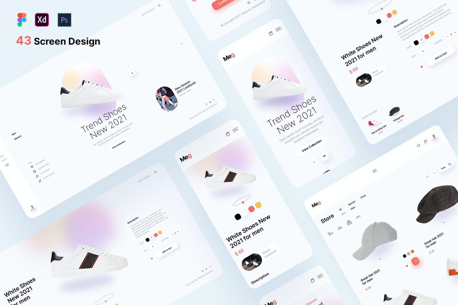 Meg – Fashion Accessories Store Template